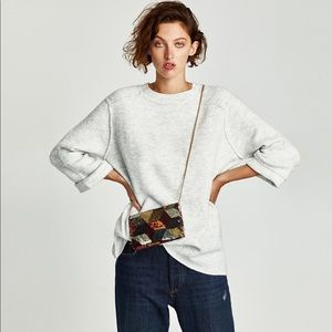 Zara Knit Oversized Sweater